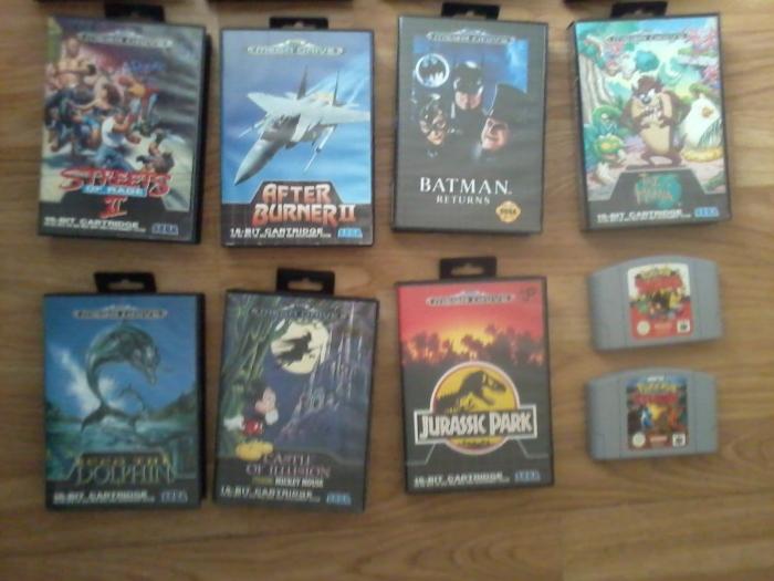 Mega Drive-samling-2
