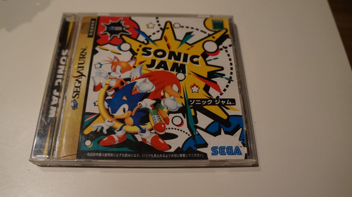 Sonic Jam Sega Saturn