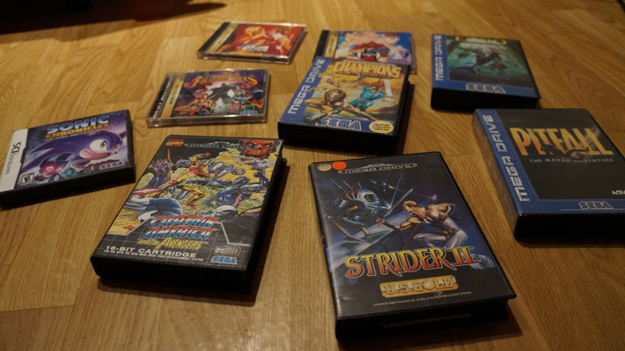mega drive collection strider 2