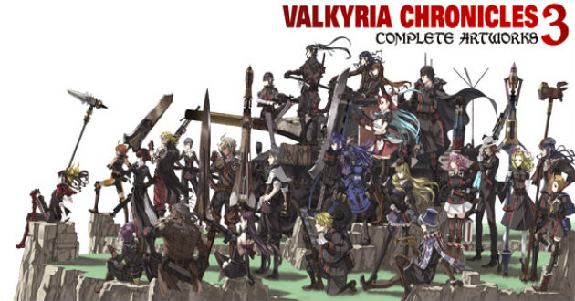 Valkyria-Chronicles-3- art work