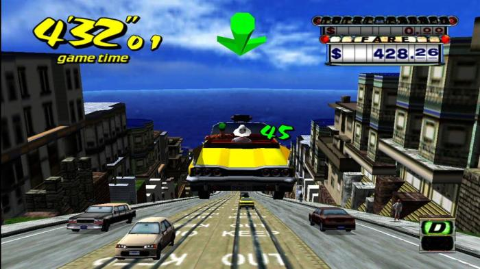 crazy Taxi san francisco