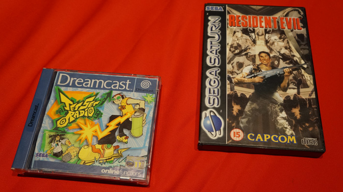 jet set radio resident evil saturn