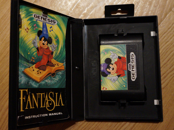 fantasia genesis manual cartrige