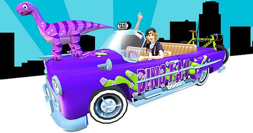 crazy taxi custom