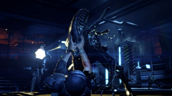colonial marines aliens