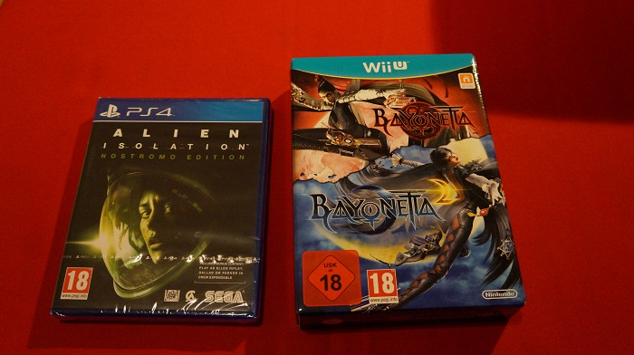 alien isolation bayonetta 1 + 2