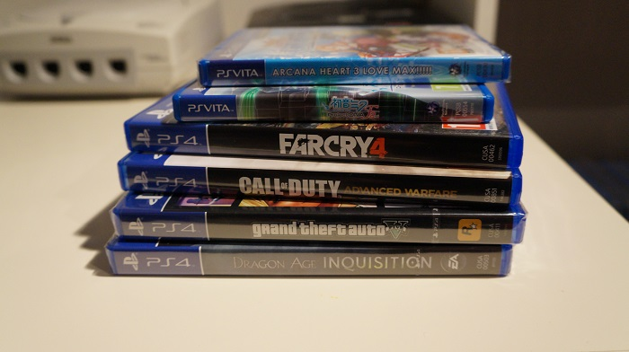 ps4 ps vita collection