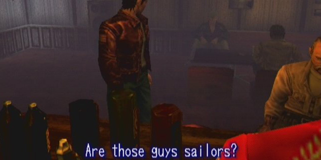 shenmue are these guys sailors